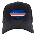 Cape Verde Flag Black Cap
