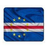 Cape Verde Flag Wave Mousepad