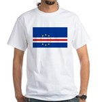 Cape Verde Flag White T-Shirt
