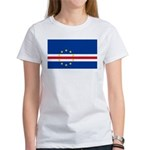 Cape Verde Flag Women's T-Shirt