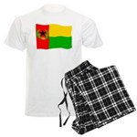 Cabo Verde History Flag Men's Light Pajamas