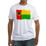 Cabo Verde History Flag Fitted T-Shirt