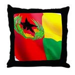 Cabo Verde Historic Flag Throw Pillow