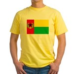 Cabo Verde Historic Flag Yellow T-Shirt
