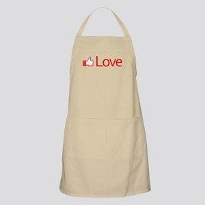 Love Button Apron