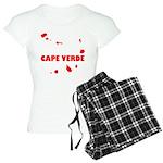 Cape Verde Islands Women's Light Pajamas