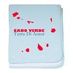 Cabo Verde Islands Terra Baby Blanket