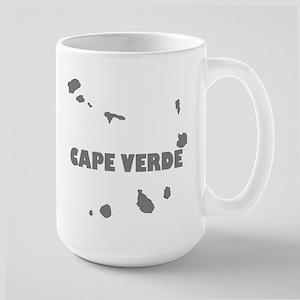 Cape Verde Islands Large Mug Mugs