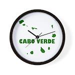 Cabo Verde Islands Wall Clock