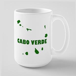 Cabo Verde Islands Large Mug