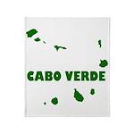 Cabo Verde Islands Throw Blanket