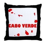 Cabo Verde Islands Throw Pillow