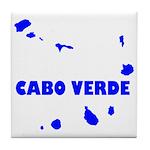Cabo Verde Islands Tile Coaster