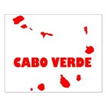 Cabo Verde Islands Small Poster