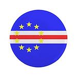 """Cape Verde Flag 3.5"""" Button"""