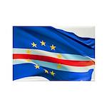 Cape Verde Flag Rectangle Magnet (100 pack)