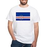 Cape Verde Flag White T-Shirt