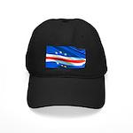 Cape Verde Flag Black Cap