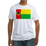 Cabo Verde Historic Flag Fitted T-Shirt