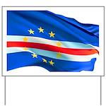 Cape Verde Flag Yard Sign