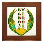 Cabo Verde Emblem Framed Tile