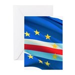 Cape Verde Flag Greeting Cards (Pk of 20)