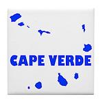 Cape Verde Islands Tile Coaster
