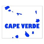 Cape Verde Islands Small Poster