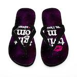 Twi Mom Pink Flip Flops