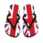 British Flag Flip Flops