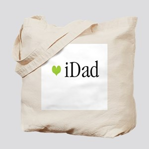 iDad Green Father & Baby Tote Bag