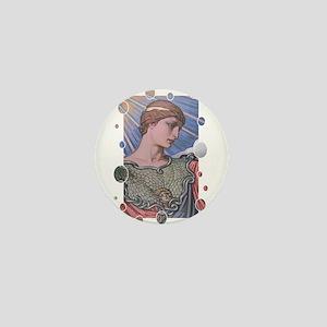 Minerva Mini Button