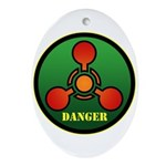 Danger Ornament (Oval)
