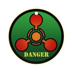 Danger Ornament (Round)