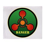 Danger Throw Blanket