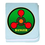 Danger baby blanket