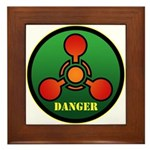 Danger Framed Tile
