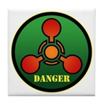 Danger Tile Coaster