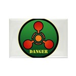 Danger Rectangle Magnet (10 pack)