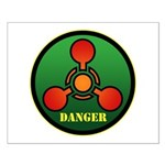 Danger Small Poster
