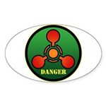 Danger Sticker (Oval)