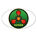 Danger Sticker (Oval 50 pk)