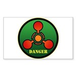 Danger Sticker (Rectangle 10 pk)