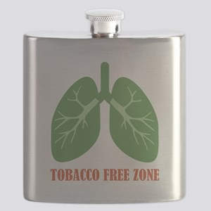 Tobacco Free Zone Flask