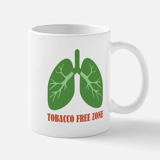 Tobacco Free Zone Mugs