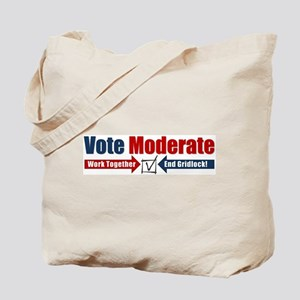 Vote Moderate Tote Bag