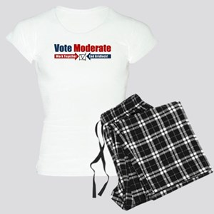 Vote Moderate Women's Light Pajamas