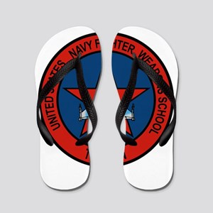 US Navy Fighter Weapons Schoo Flip Flops