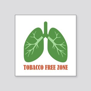 Tobacco Free Zone Sticker