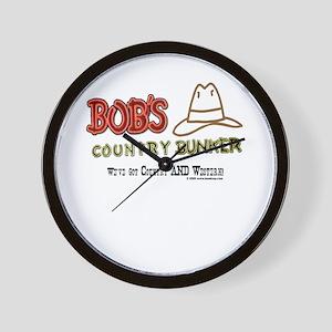 Bob's Country Bunker Wall Clock